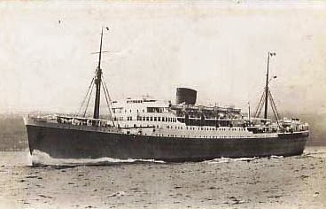 The Durban Castle Steamship