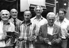 Buster Edwards, Tommy Wisbey, Jimmy White, Bruce Reynolds, Roger Cordrey, and Charlie Wilson