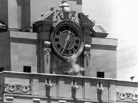 Charles shoots from the Clock Tower