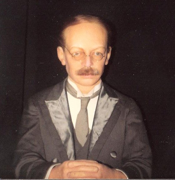 Crippen's waxwork at Madame Tussauds