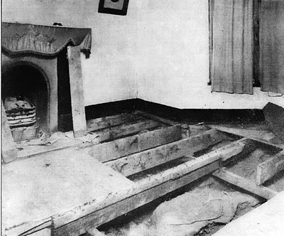 Ethel Christie's body under the floorboards