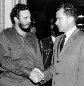 Fidel Castro and Richard Nixon