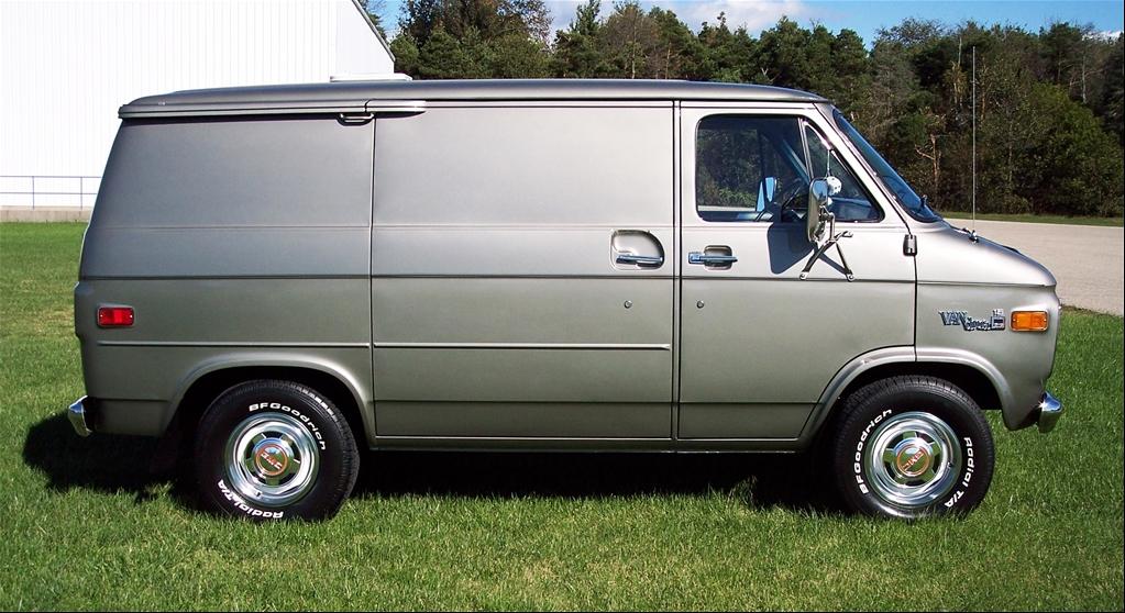 1977 GMC cargo van