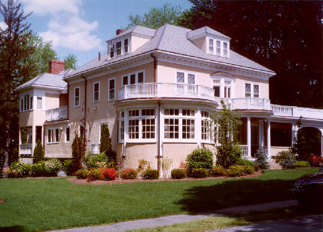 Ponzi's house in Lexington, Mass