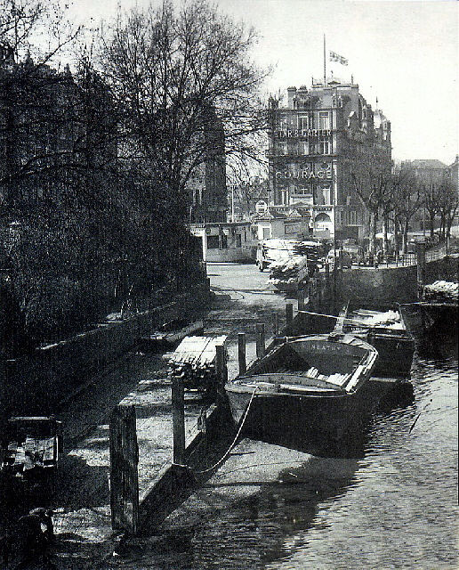 The Embankment at Putney where Christie was arrested