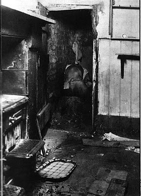 The body of Hectorina McLennan in the cupboard