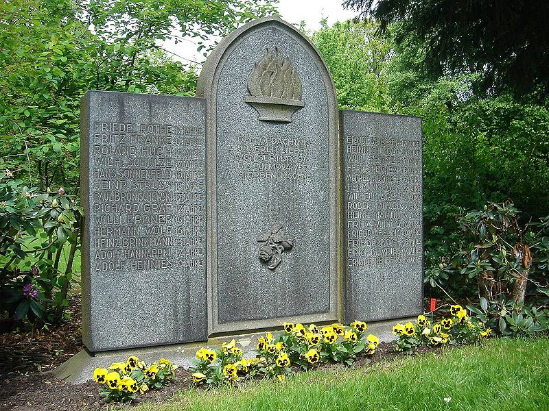 The grave of Haarmann's victims