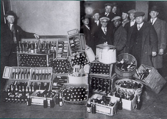 Bootleggers in the 1920's