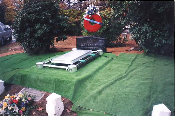 Reburial of the Boy in the Box. November 11th, 1998