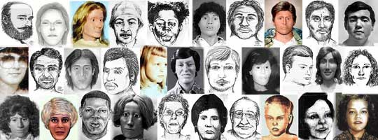 unidentified victims profiled on The Doe Network