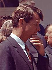Robert F. Kennedy was assassinated on the first anniversary of the Six-Day War in 1968.