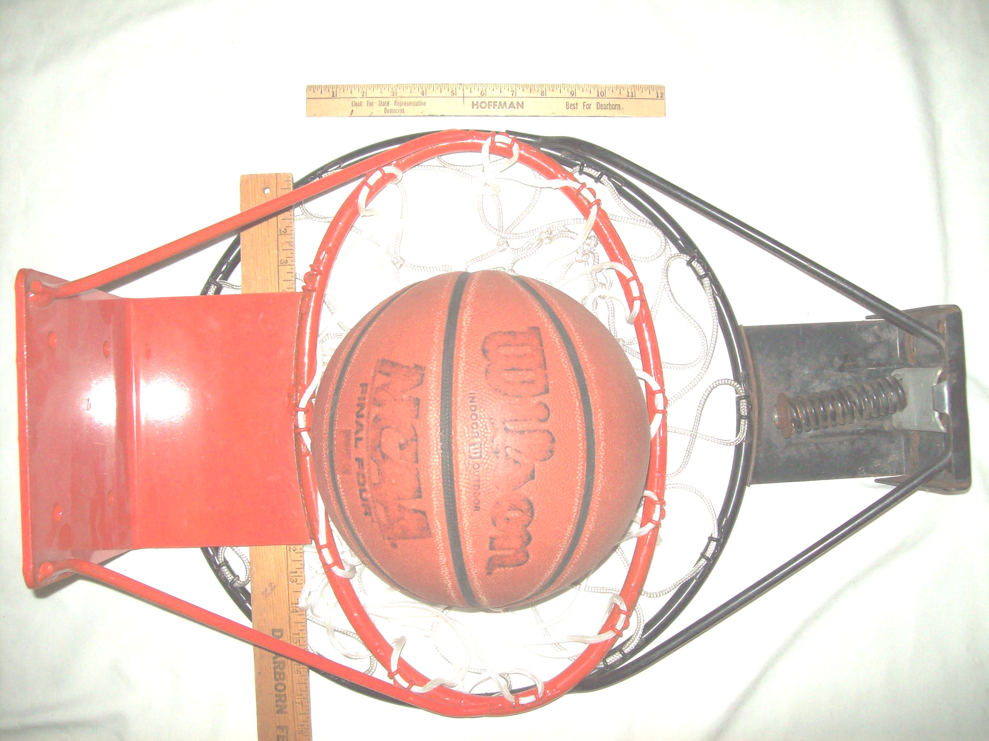 Carnival Basketball Rims Both Basketball Rims Gaffed